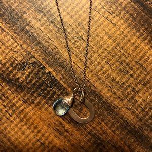 Nashelle horseshoe turquoise necklace